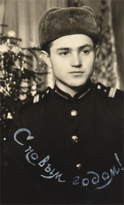 Владимир Фомичёв – сержант.