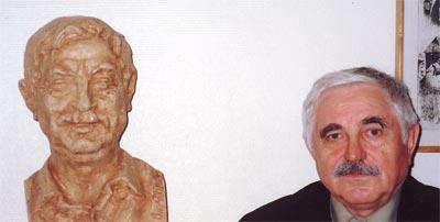 Фомичёв на выставке Селиванова.