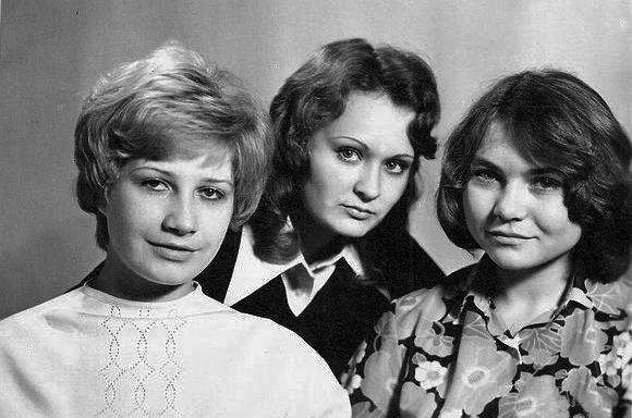Т-41 выпуск 1977 года – Орешкина Надя, Мельник Валя, Харитонова Лида