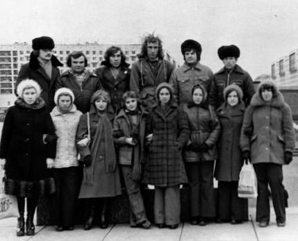 Наши в Питере-1977-1