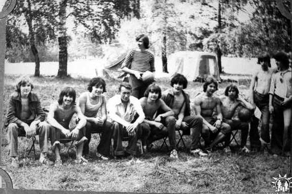 Группа М11 77-81 в походе